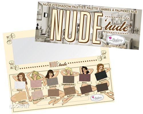 Paleta Nude Tude - The Balm