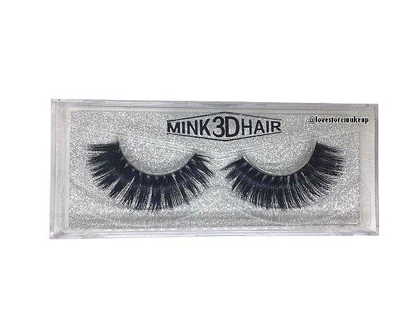 Par de Cílios Mink 3D Hair - 3D28
