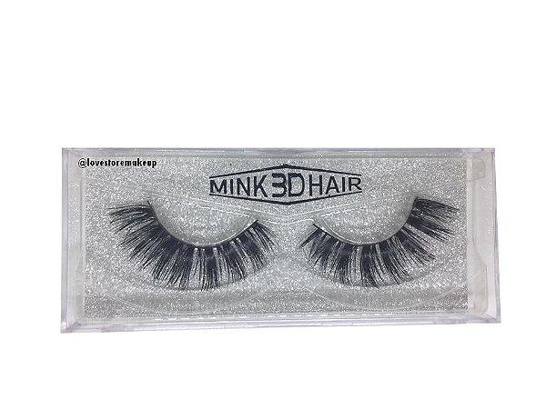 Par de Cílios Mink 3D Hair - 3D32