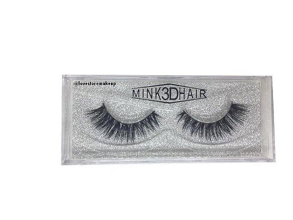 Par de Cílios Mink 3D Hair - 3D43