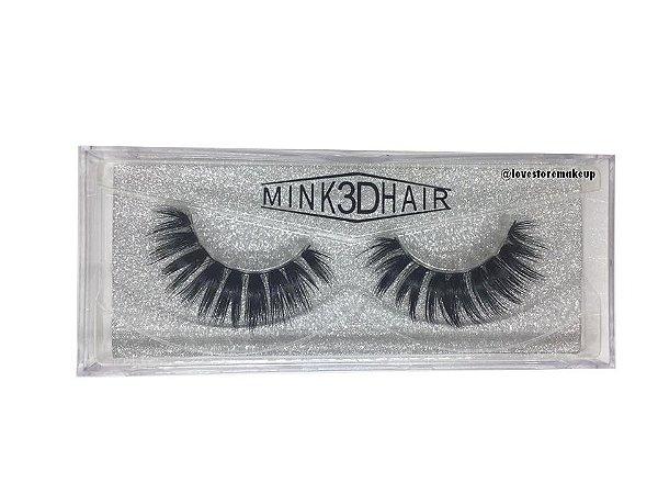 Par de Cílios Mink 3D Hair - 3D56