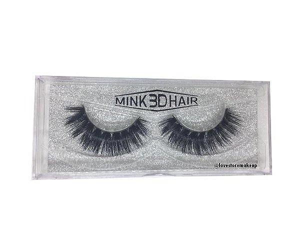 Par de Cílios Mink 3D Hair - 3D57