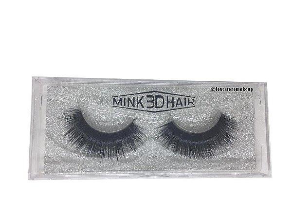 Par de Cílios Mink 3D Hair - 3D58
