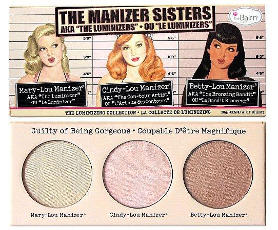 Paleta de Iluminadores The Manizer Sisters - The Balm
