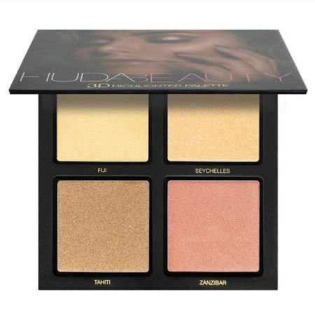 Paleta de iluminador Golden Sands - Huda