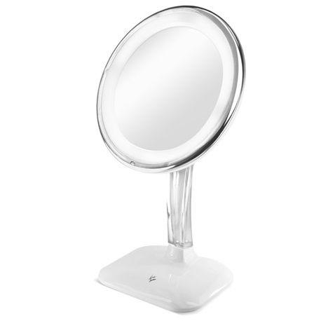 Espelho de aumento 5x com Led - Klass Vough