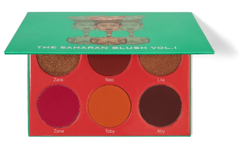 Paleta de Blush The Saharan I - Juvia's Place