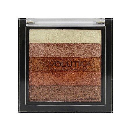 Blush Shimmer Brick Rose Gold - Revolution