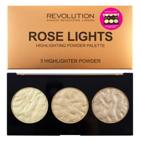 Paleta de Iluminador Rose Lights - Revolution