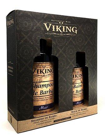 Kit Shampoo e Balm Mar - Viking