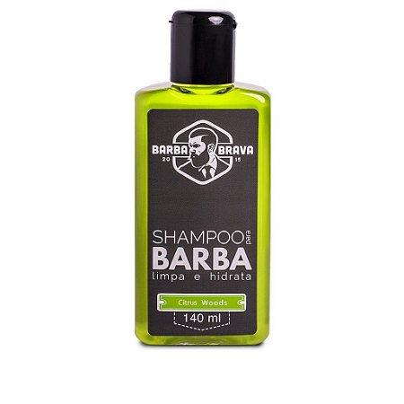 Shampoo para Barba Citrus Woods - Barba Brava