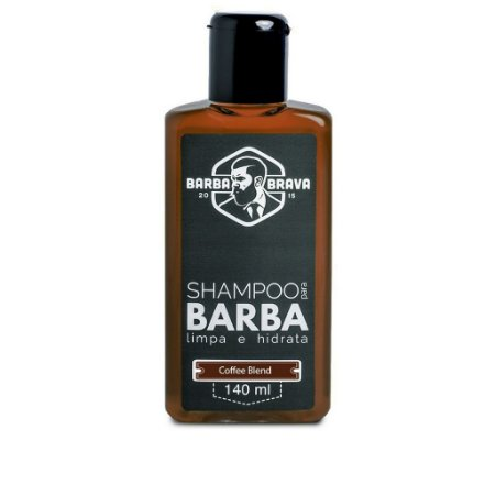 Shampoo para Barba Coffee Blend - Barba Brava