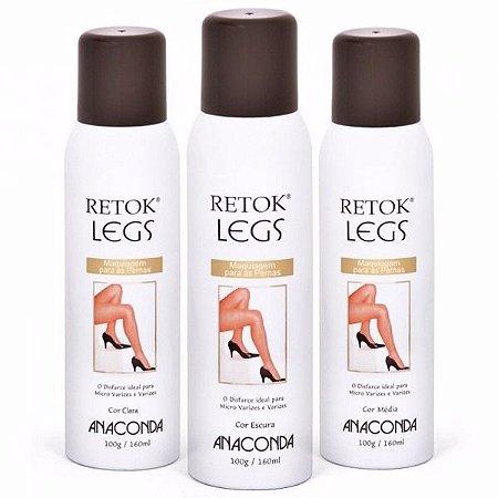 Maquiagem para as pernas Retok Legs - Anaconda