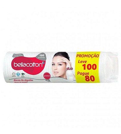 Discos de algodão 100uni - Bellacotton