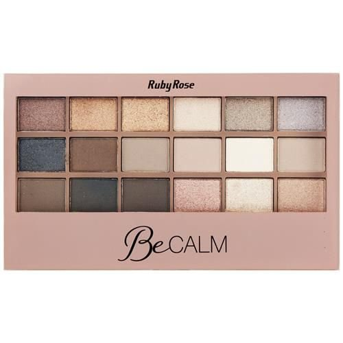 Paleta de sombras Be Calm - Ruby Rose