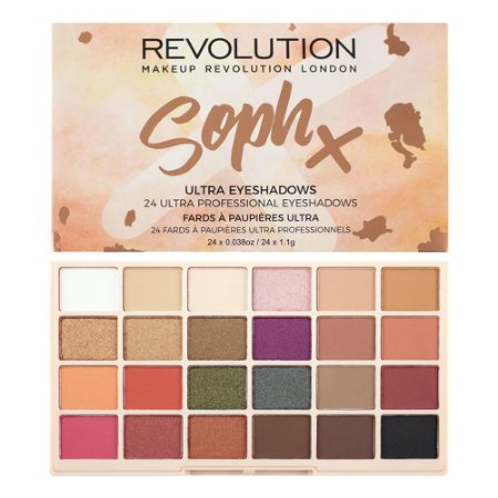 Paleta de sombras SophX - Revolution