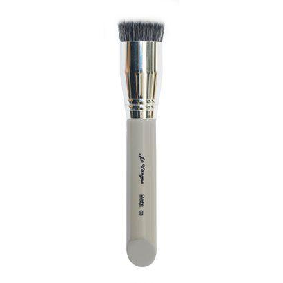 Pincel flat top kabuki linha Beta 03 - Le Vangee