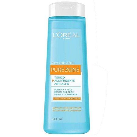 Tônico adstringente anti acne - Loreal