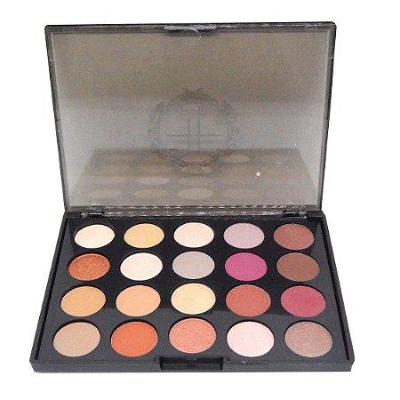Paleta de 20 cores de sombras #02 - Fand