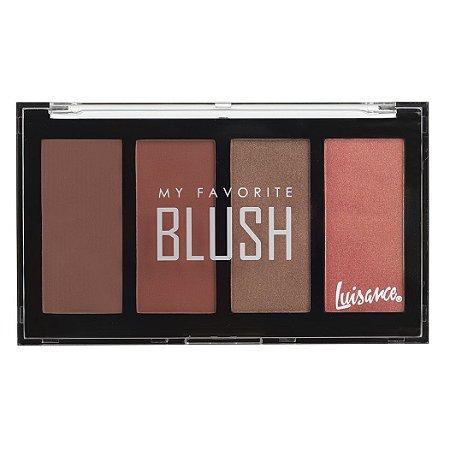 Paleta My Favorite Blush - Luisance