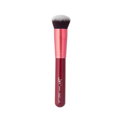 Pincel Kabuki Arredondado para Base L14 - Luv Beauty