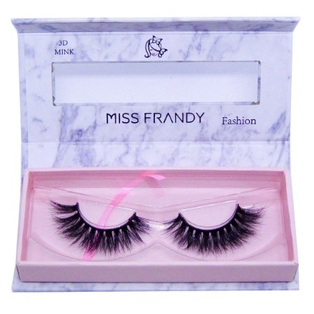 Cílios postiços efeito Mink 6D 60 (0407) - Miss Frandy