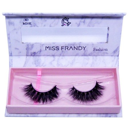 Cílios postiços efeito Mink 3D 6D 40 - Miss Frandy