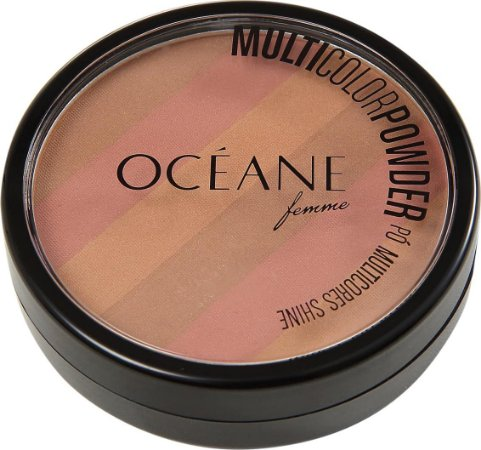 Bronzer Facial Multi Color Powder - Oceane