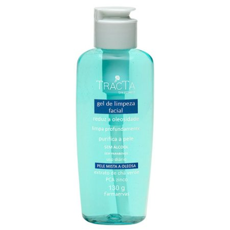 Gel de limpeza facial - Tracta