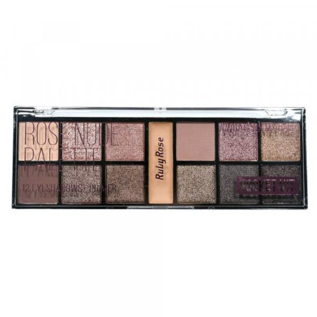 Paleta de Sombras Rose Nude - Ruby Rose