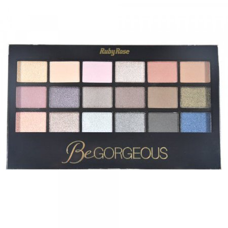 Paleta de sombras Be Gorgeous - Ruby Rose