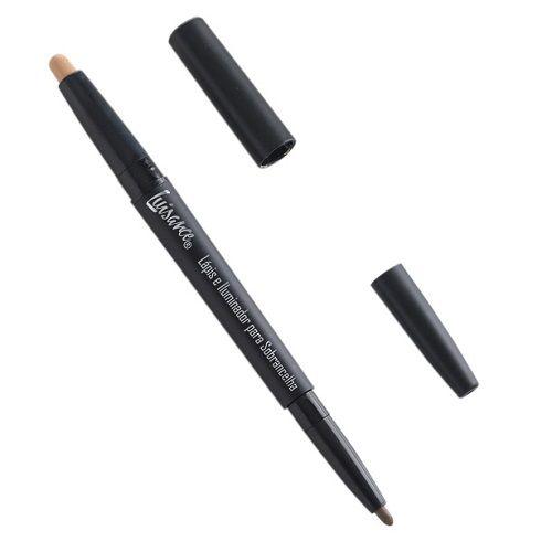 Lápis e Iluminador para sobrancelhas - Luisance