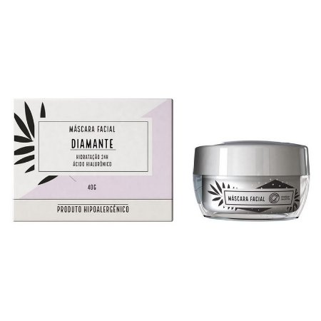 Máscara Facial Diamante - Chata de Galocha