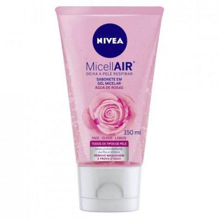Sabonete facial com água de rosas Micellair - Nivea