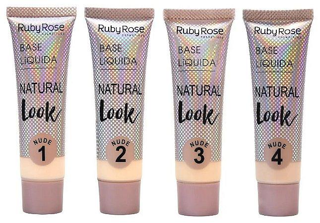Base líquida Natural Look Nude - Ruby Rose