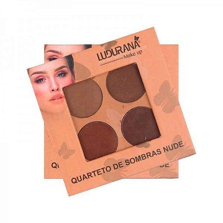 Quarteto de sombras Nude M00031 - Ludurana