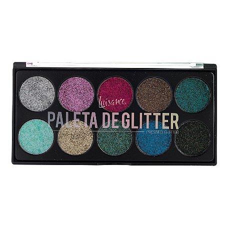 Paleta de Glitter Prensado - Luisance