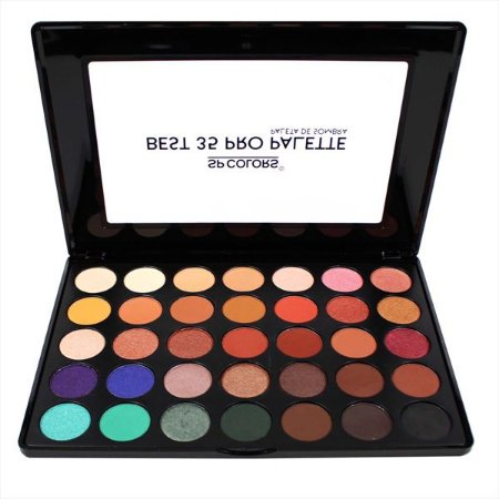 Paleta de sombras Best 35 Pro - SP Colors