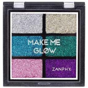 Paleta de glitter Make Me Glow 01 - Zanphy
