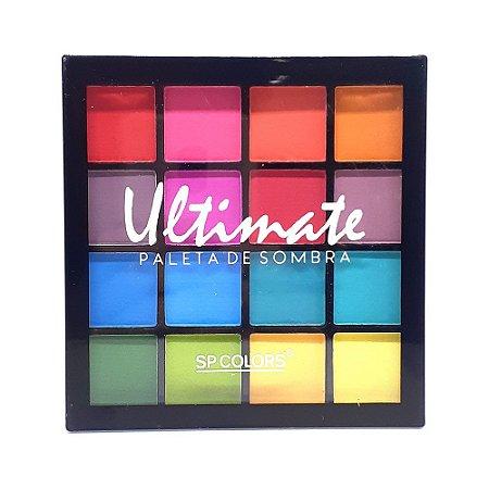 Paleta de Sombras Ultimate B - SP Colors