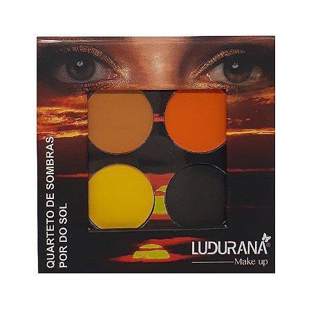 Quarteto de sombras Por do Sol - Ludurana