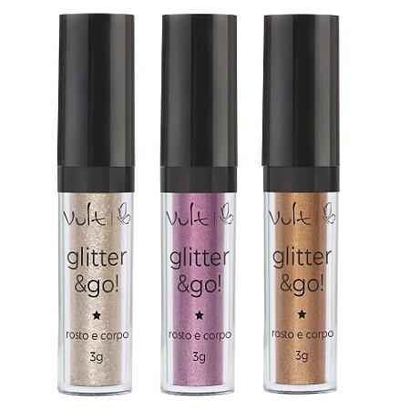 Sombra líquida Glitter & Go - Vult