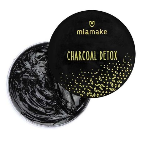Máscara esfoliante de carvão ativado - Mia Make