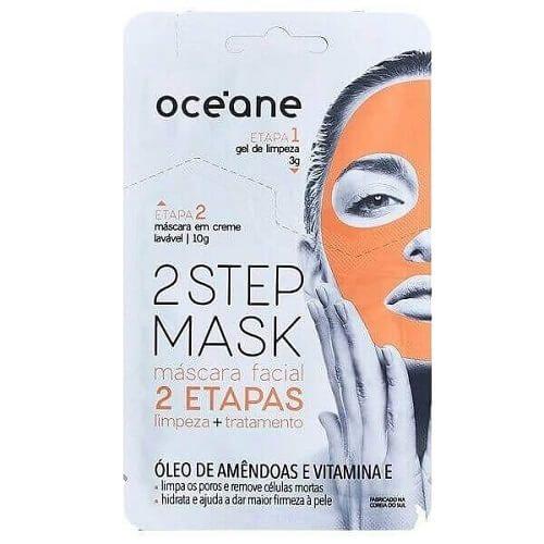 Máscara Facial Óleo de Amêndoas e Vitamina E - Oceane