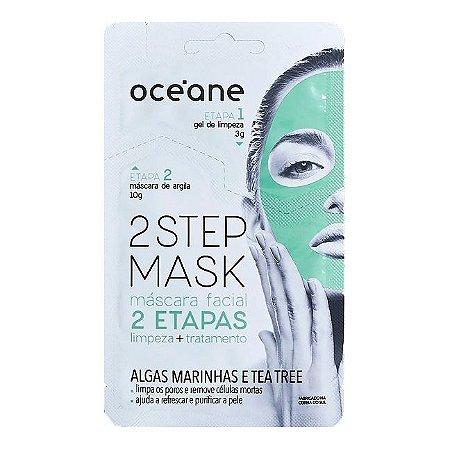 Máscara Facial Algas Marinhas e Tea Tree - Oceane