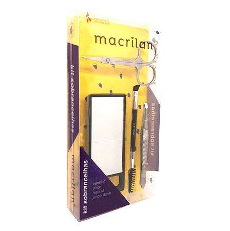 Kit sobrancelhas perfeitas ks200 - Macrilan