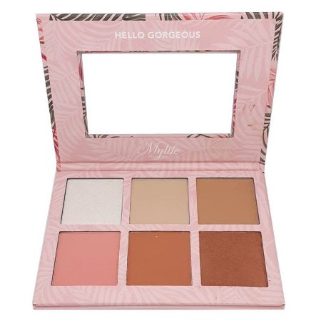 Paleta de Blush e Contorno Holiday cor 1 - Mylife