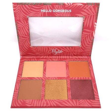 Paleta de Blush e Contorno Holiday cor 2 - Mylife