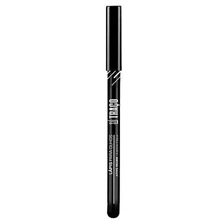 Lápis para olhos preto Ativo Negro Só Traço - Vegas