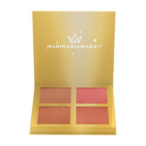 Paleta de Blushes e Contornos Sun Kissed - Mari Maria